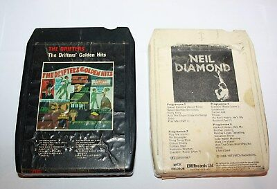 {2} 8 Track Cartridges The Drifters