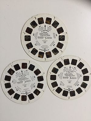Viewmaster Reels x3 The Hunchback Of Notre Dame