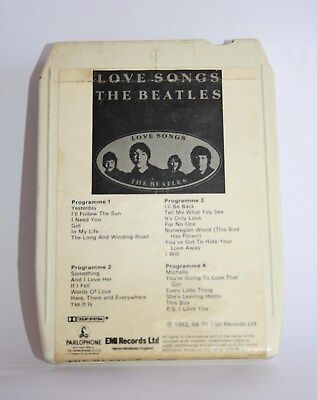 8 Track Love Songs The Beatles