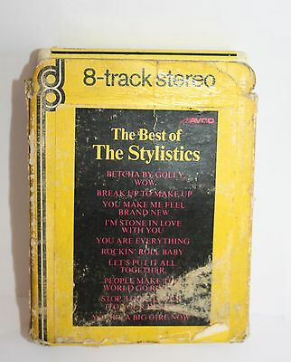 8 Track The Best Of The Stylistics