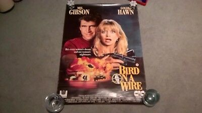 Bird on a Wire original CIC video store poster