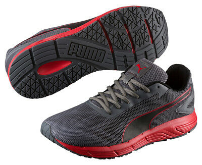 Puma Men's Engine Running Shoe - Grey/Red
