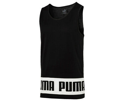Puma Men's Rebel Tank - Black