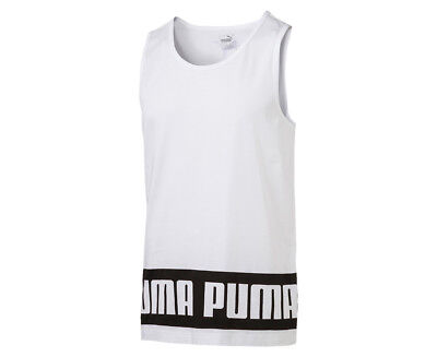 Puma Men's Rebel Tank - White