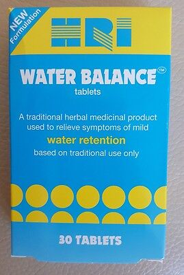 HRI Water Balance Vegetarian tablets for Water Retention 30tabs Cheapest on ebay