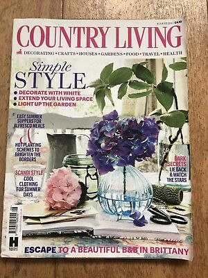 Country Living Magazine - August 2015