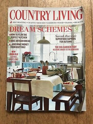 Country Living Magazine- October 2015