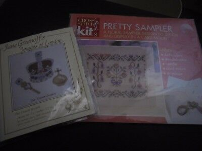 2 x samplers to embroider