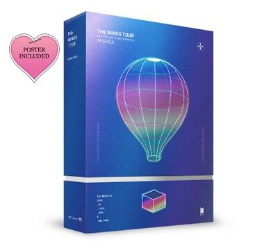 Bts 2017 - The Wings Tour In Seoul Dvd Preorder [ Read All The Description Pleas