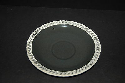 Harker Chesterton Gadroon Charcoal Saucer