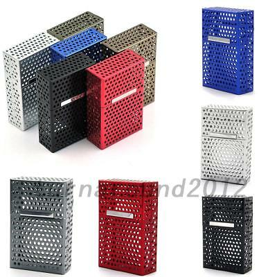 20 Loaded Hollow Anti-Press Cigarette Protector Holder Cover Case Box Gift UK