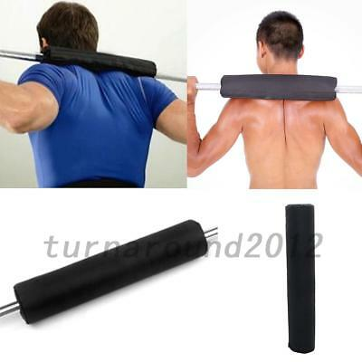 Portable Barbell Pad Shoulder Protector Weight Lifting Exercise Nylon Sponge