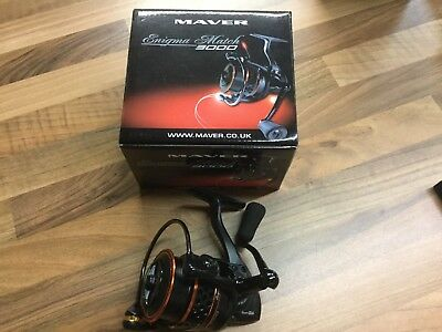 Maver enigma match 3000 fishing reel