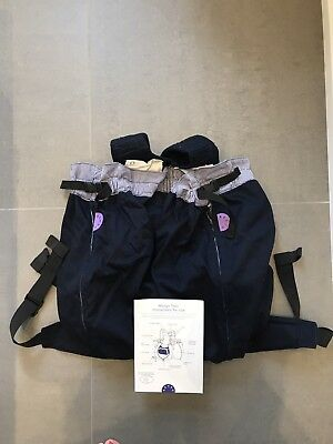 WeeGo Twin Baby Carrier Navy