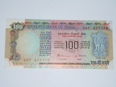 Reserve Bank Of India- One Hundred Rupees