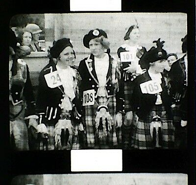 9.5mm Film  -  SCOTLAND  - 1935   -   B/W   -   SILENT   -   300'