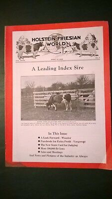 Holstein World 1942 Shaws Ridge Farm + Dunloggin & Mount Victoria Herds