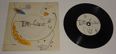 "The Cure Caterpillar / Happy The Man 1984 Fiction Uk 7"" Issue, P/s"