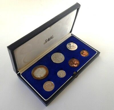 South Africa Proof Coin Set 1968 as Issued by the S A Mint in Original Box #CIM