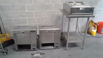 Antunes Roundup Vertical Toaster 2 of them  (autofry fryer ventless)