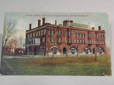 Pathe Freres Moving Picture Plant, Bound Brook, N. J.,  Postcard