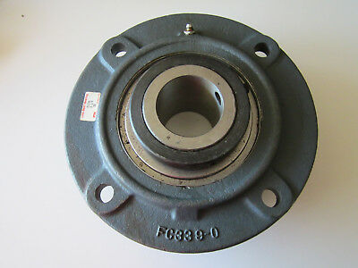 "Link Belt FC336 Flange Mounted Bearing 2-1/4"" Bore"