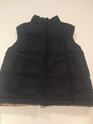 Boys Burberry Puffer Vest