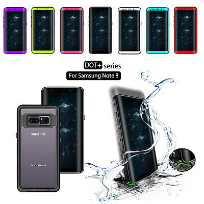 DOT For Galaxy Note 8 Waterproof Case Underwater Shockproof Dirtproof Snow Cover
