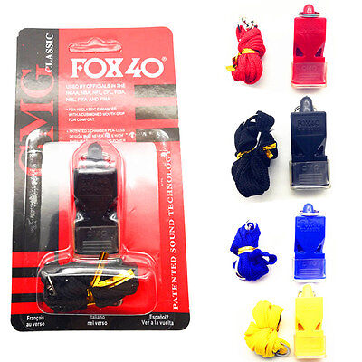 FOX 40 Classic CMG Official Whistle Breakaway Lanyard Sports Safety Outdoors