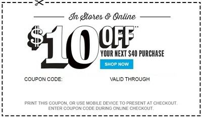 Children's Place $10 Off $40 C0UPON - EXP 11/08 - **DELIVERED WITHIN 1 HOUR**