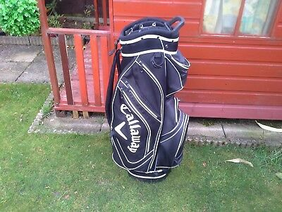 Callaway Lightweight Cart Golf Bag - Used Condition