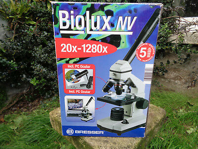 Bresser Microscope Biolux NV 20x-1280x with accessories