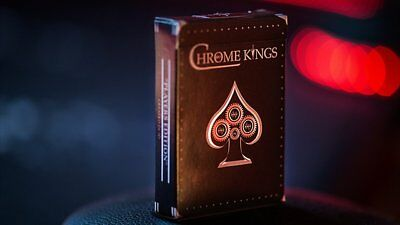 Chrome Kings Limited Edition Playing Cards (Players Edition) Poker Spielkarten