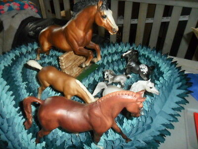 Mixed Lot of Breyer Horses Made by Breyer