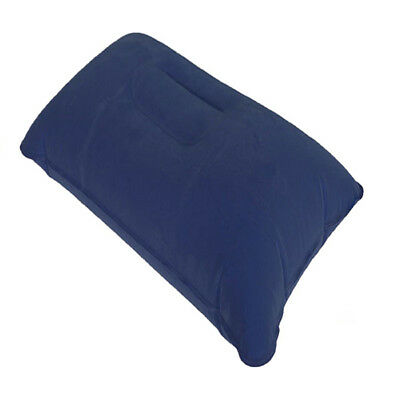 2PCS INFLATABLE SEAT CUSHION TRAVEL PILLOW SLEEP SLEEPING HEAD SUPPORT in C S3L2