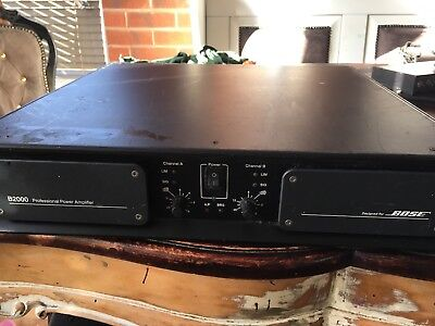 MC2 T2000 Amplifier , Bose B2000