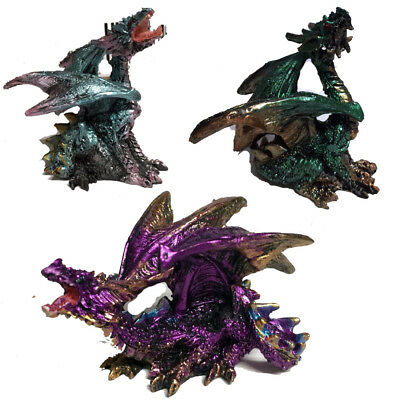 New Dragon Purple,blue.Green gothic ornament gift unusual Christmas gift