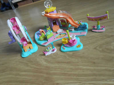 Vintage Polly Pocket Playset - The Fairground