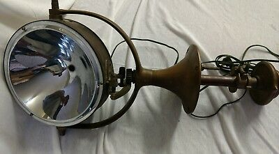 Vintage/antique one mile ray ship search spot light made of copper/brass?