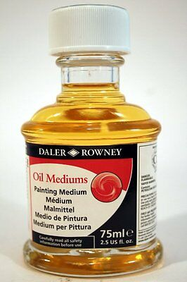 Daler Rowney OIL Painting medium 75ml NEW