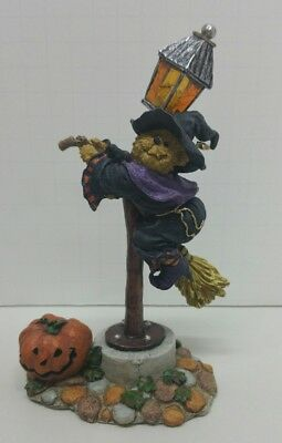 Boyds Bears Zelda the Near-Sighted Witch #228480 Bearstone Collection