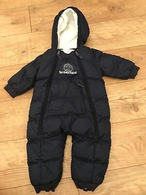 Timberland Boys Snowsuit/all In One Coat 18 Months