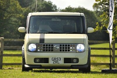 Nissan Cube - Manual - 2003 - Limited Edition 70th Anniversary - Import