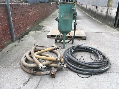 sand blast pot and hoses hodge clemco