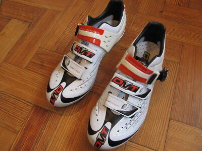 DMT Lightec Road Cycling Shoes SLHC Lightweight White 44.5