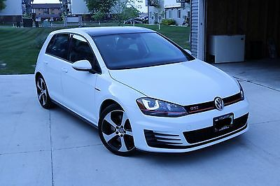 2017 Volkswagen Golf GTI 2017 Volkswagen Golf GTI SE - 2.0L 4cyl turbo, Dual-Clutch Automatic (DSG),29MPG