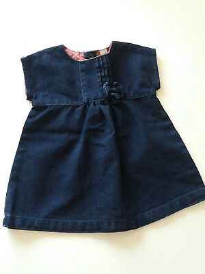 robe fille taille 6 mois