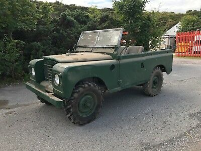 Land Rover Series 3 III Very Straight Original Barn Find