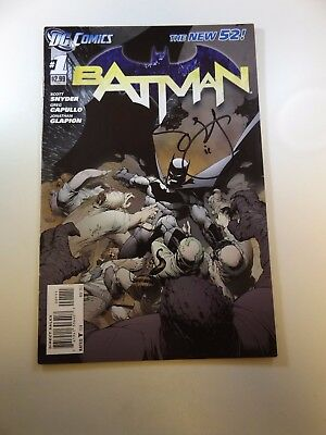 Batman #1 New 52 1st print signed by Scott Snyder VF- condition