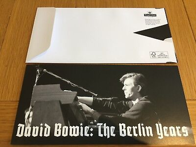 David Bowie The Berlin Years Limited Edition FDC NEW No.1395